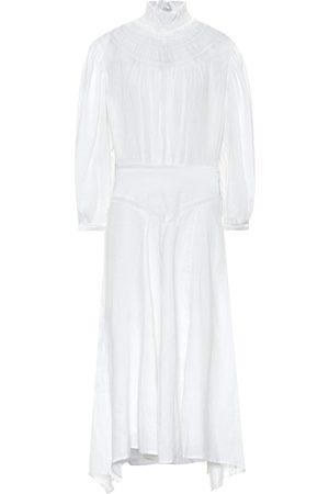 Isabel Marant, Étoile Albane linen midi dress