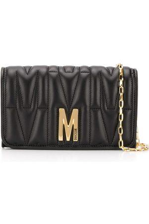Moschino Quiltad väska med monogram