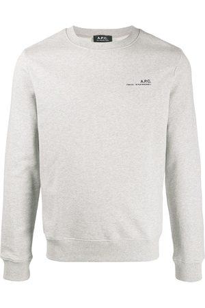 A.P.C Logo sweatshirt