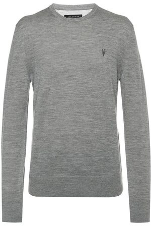 AllSaints Mode' Logo-embroidered sweater