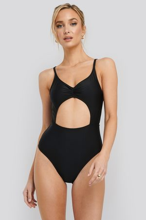 NA-KD Cut Out Front Swimsuit