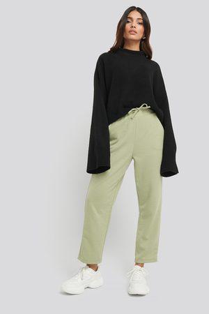 NA-KD Kvinna Byxor - Basic Slip Pants