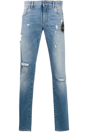 Dolce & Gabbana Jeans med slitning