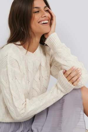 NA-KD Regular Cable Knitted Sweater