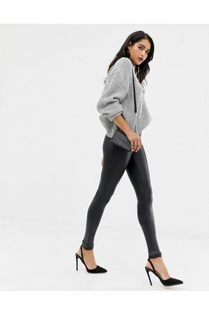 Spanx – Shaping-leggings i skinnimitation med hög midja