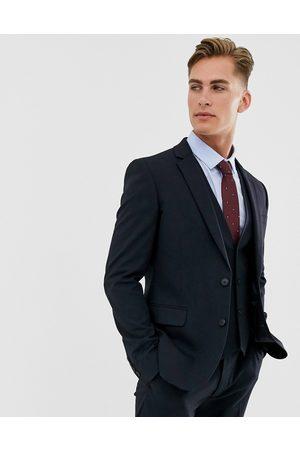 ASOS – Marinblå kostymjacka med smal passform