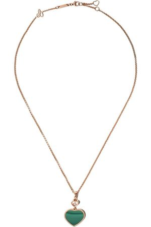 Chopard Happy Hearts diamanthalsband i 18K roséguld