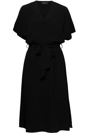 Selected Slfvienna Ss Short Dress B Noos Knälång Klänning