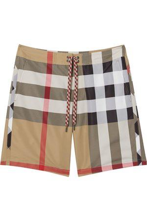 Burberry Exploded Check swim shorts