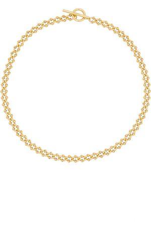 ALL BLUES DNA guldfärgat halsband