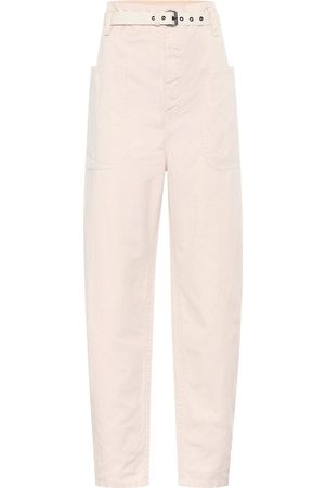Isabel Marant, Étoile Rinny high-rise cotton-blend pants