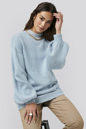NA-KD Oversized Long knitted Sweater