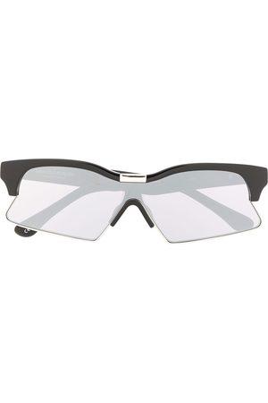 MARCELO BURLON Solglasögon med rektangulära bågar