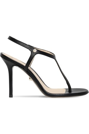 Alevì 90mm Leather Thong Sandals