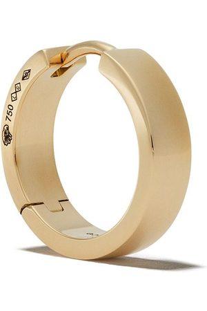 Le Gramme Ribbon örhänge i 18K borstat gult guld