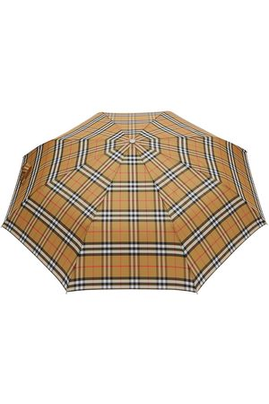 Burberry Vintagerutigt paraply