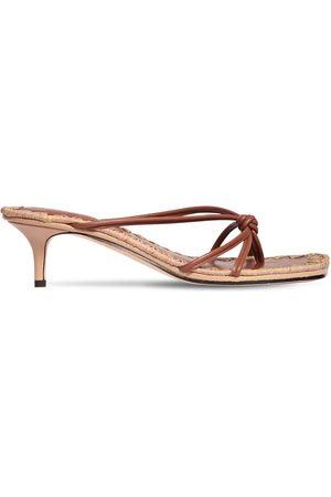 MARA&MINE 35mm Leather Thong Sandals