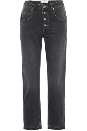 Isabel Marant Garance cropped straight jeans