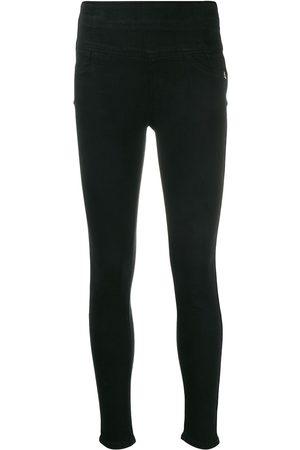 Patrizia Pepe Skinny-jeans med broderad logotyp