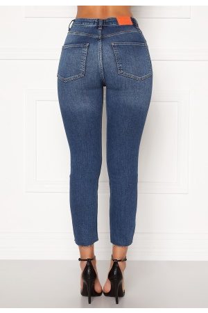 the Odenim O-Crop Jeans 02 Midblue 36