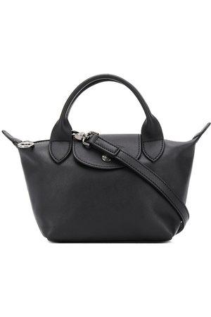 Longchamp Le Pliage Cuir liten väska