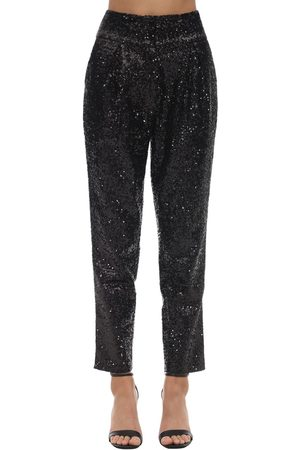 In the Mood for Love High Waist Sequined Pants