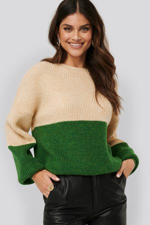 NA-KD Color Blocked Knitted Sweater