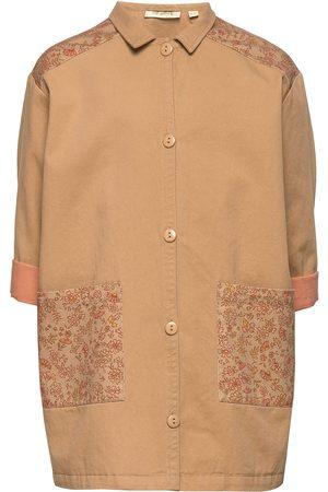 Soft Gallery Frency Coat Outerwear Jackets & Coats Denim & Corduroy Brun