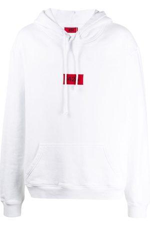 424 FAIRFAX Man Hoodies - Huvtröja med broderad logotyp