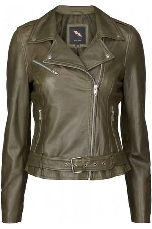 Butterfly Copenhagen Leather Biker jacka