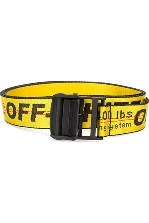 OFF-WHITE Bälten - CARRYOVER INDUSTRIAL BELT YELLOW NO COLO