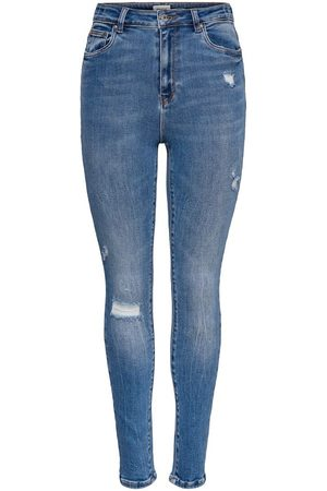 Only Onlmila Life Hw Ankle Skinny Fit-jeans