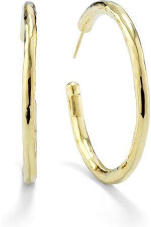 Ippolita 18kt gold medium hoops