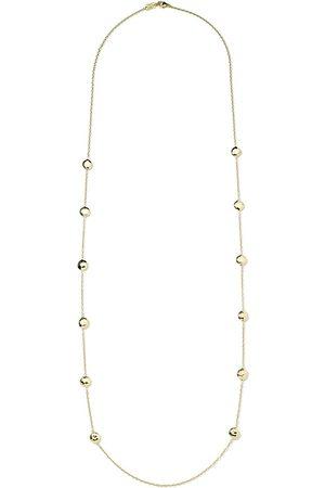 Ippolita 18kt gold Station necklace