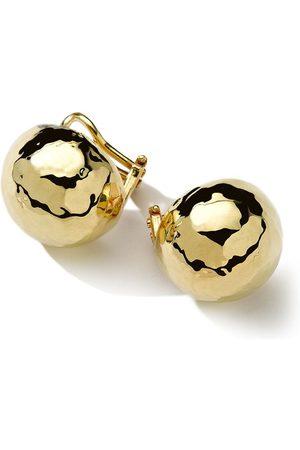 Ippolita 18kt gold Pinball clip earrings