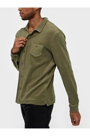 Oas Terry Shirt Camisa Skjortor Khaki