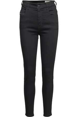 Diesel Kvinna High waist - Slandy-High Trousers Skinny Jeans Blå