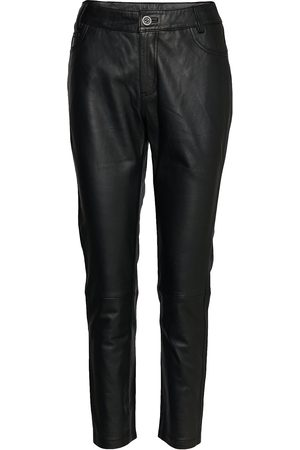 Denim Hunter 24 The Leather Pant Leather Leggings/Byxor