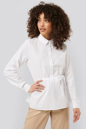 NA-KD Belted Shirt