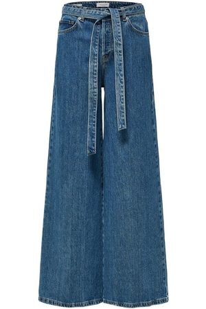 Selected Wide Fit Jeans High Waist
