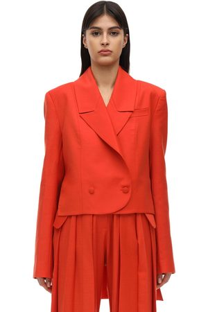 MATÉRIEL High Low Cool Wool Blazer