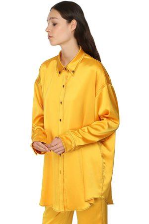 SIES MARJAN Oversized Satin Shirt