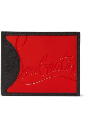 Christian Louboutin Logo-debossed Leather And Pu Billfold Wallet