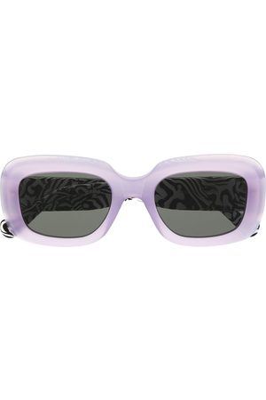 Retrosuperfuture Virgo zebramönstrade solglasögon