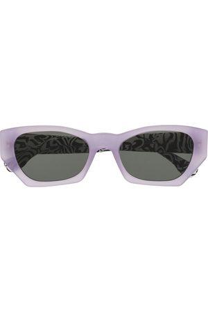 Retrosuperfuture Zebramönstrade solglasögon