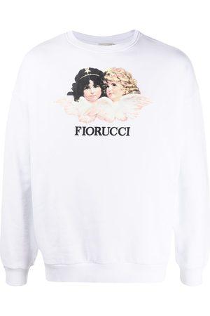 Fiorucci Vintage Angels tröja med tryck