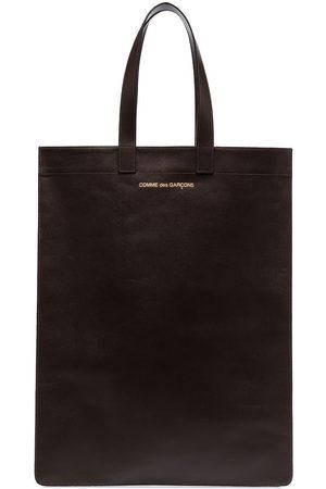 Comme des Garçons Tote-väska med logotyp