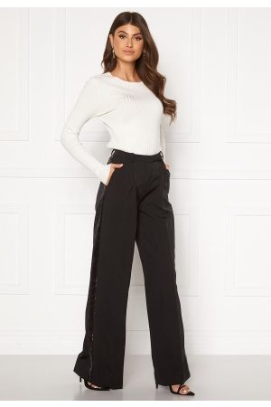 Lars Wallin Wide Pants Black Black 34