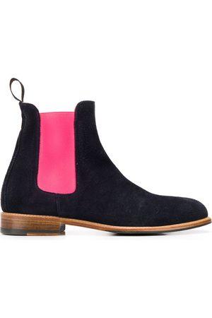 Scarosso Chelsea-boots med färgblock