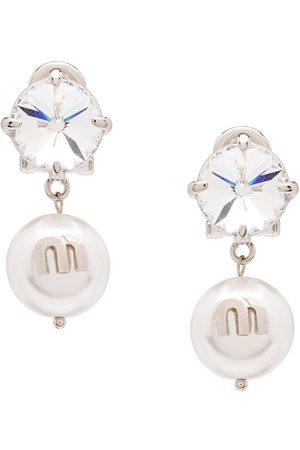 Miu Miu Solitaire Jewels örhängen